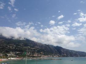 See view from Menton