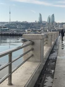 Caspian Sea side - Baku